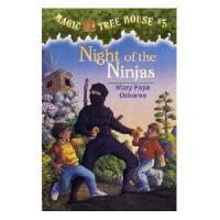 【预售】英文原版儿童书 Night of the Ninjas 神奇树屋5:忍者的秘密 新旧版本随 机发!