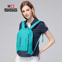 【到手价仅需39.00元】SIGG 时尚情侣款 男款女款 防盗式拉链设计 中性休闲双肩包15L