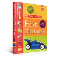 英文原版书绘本 Scholastic First Dictionary 学乐 儿童图画图解辞典 精装 4-8岁启蒙阅读