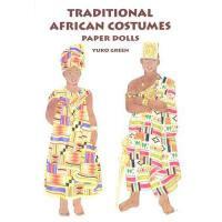 【预订】Traditional African Costumes Paper Dolls