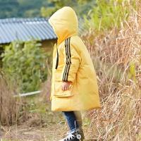 童装儿童羽绒服男童中长款2018新款秋冬韩版中大童男女童加厚外套