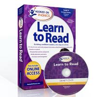 英文原版自然拼读绘本 Hooked on Phonics Learn to Read - Level 4 迷上了语音学