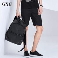 GXG短裤男装 夏装男士时尚都市青年商务气质流行修身休闲短裤男