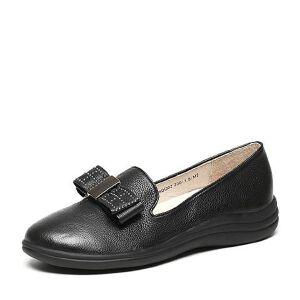 Teenmix/天美意2017春专柜同款牛皮/PU女单鞋6DQ02AQ7