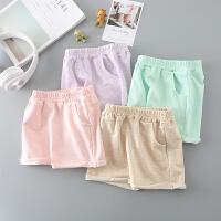 儿童短裤女童新款夏装裤子薄款小孩男童外穿