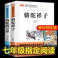 全2册骆驼祥子/海底两万里 七年级必读10-15岁初中生课外阅读书籍经典世界名著七年级六八年级儿童读物