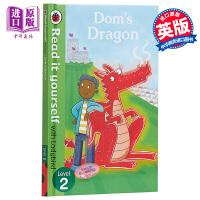 【中商原版】小飘虫独立阅读系列:唐姆的龙 Dom's Dragon 独立阅读 分级读物 亲子绘本 故事书 4~7岁 精