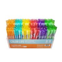 蓝果LG-40849糖果主义荧光笔 颜色图案随机 单支销售 当当自营