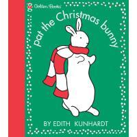【全店300减100】英文原版 圣诞绘本 Pat the the bunny 拍拍小兔子系列Merriy Christm