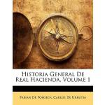 【预订】Historia General de Real Hacienda, Volume 1