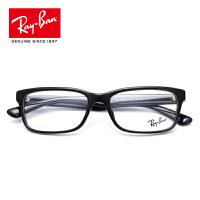 RayBan雷朋近视眼镜男女款全框板材简约矩形框架眼镜架0RX5296D 2000