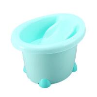 中号可坐宝宝浴盆 婴儿洗澡盆宝宝浴桶儿童泡澡桶浴盆小孩儿洗澡桶
