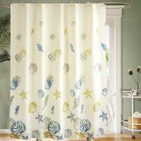 浴帘卫生间套装免打孔浴室淋浴门帘子挂帘隔断帘