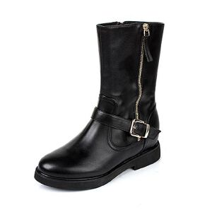 Tata/他她专柜同款小牛皮女休闲靴2KJ70DS5