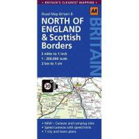【预订】Road Map Britain: North of England & Scottish