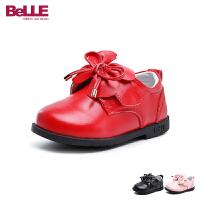 【秒杀价:59元】百丽Belle童鞋秋季新款宝宝鞋婴幼童学步鞋蝴蝶结小皮鞋时装鞋 (0-4岁可选)