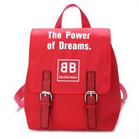 儿童包包时尚百搭双肩包男女宝宝幼儿园字母小书包旅行潮流小背包