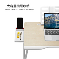 赛鲸床上小桌子笔记本电脑桌大学生宿舍床上书桌多功能折叠写字台懒人小桌子家用卧室床上用学习加高大号炕桌