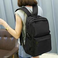 韩版双肩包女 书包女生中学生初中生高中生女士旅行包潮流休闲背包简约女士双肩包
