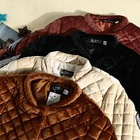 韩版冬季新款女装贴布刺绣时尚学生简约冬装保暖棉衣外套 KY8440