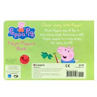 【全店300减100】英文原版 小猪佩奇绘本 Peppa Pig:Hooray! Says Peppa Finger P