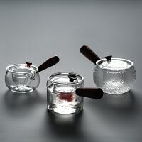 耐热耐高温玻璃茶壶花茶壶 功夫茶具过滤泡茶壶