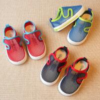 夏季儿童鞋凉鞋婴儿幼儿女童宝宝镂空网鞋透气男