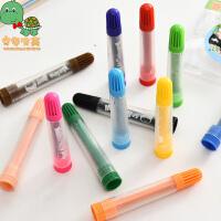 乌龟先森 水彩笔 可爱儿童彩色画画笔彩铅套装绘画用品男女学生学习用品考试奖品创意文具画具画材
