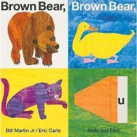 【现货】英文原版 Brown Bear, Brown Bear, What Do You See? (Slide and
