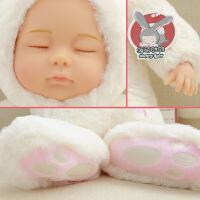 毛绒玩具睡萌娃娃软胶安抚陪睡洋娃娃仿真娃娃玩具公仔生日礼物女