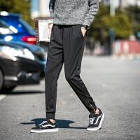发型师男士哈伦裤透气小脚裤时尚韩版修身个性潮流弹力抵挡休闲裤
