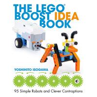 【中商原版】五十川芳仁:乐高编程机器人创意书 英文原版 The Lego Boost Idea Book: 95 Si