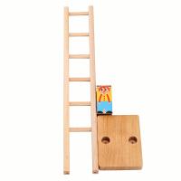 德国goki 儿童玩具 小丑滚楼梯桌面游戏 亲子传统怀旧礼物 3y+