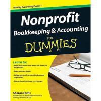 【预订】Nonprofit Bookkeeping & Accounting For Dummies