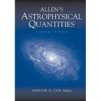 【预订】Allen's Astrophysical Quantities