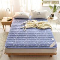 粗布床垫1.8m榻榻米床褥子可折叠单双人学生宿舍垫被