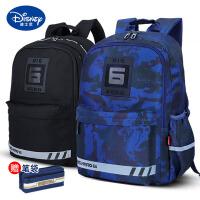 迪士尼书包小学生3-4-6年级5初中生男孩子双肩包儿童背包潮大容量