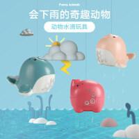 ����洗澡玩具抖音同款�游锏嗡�大象玩具模型�蛩�洗澡神器淋浴盆