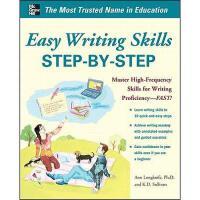 【预订】Easy Writing Skills Step-By-Step