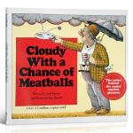 英文原版绘本Cloudy With a Chance of Meatballs 阴天有时下肉丸