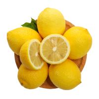 正大果业 四川安岳黄柠檬3斤装新鲜大果包邮