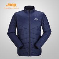 【特惠价】Jeep/吉普 男士冬季商务休闲轻质舒适双面棉服J842094849