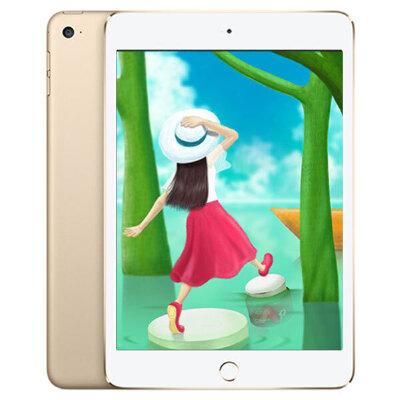 苹果Apple iPad mini4 128G wifi版 7.9英寸迷你平板电脑(800万像素摄像头 A8芯片 指纹识别)晒图赠保护套 顺丰包邮 全国联保