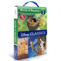 英文原版绘本 World of Reading Disney Classic Characters Level 1 迪