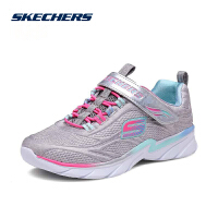 Skehers斯凯奇女童休闲鞋新款简约时尚魔术贴运动鞋