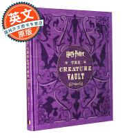 哈利波特 神奇生物宝库 艺术设定集 英文原版 Harry Potter: The Creature Vault 植物与