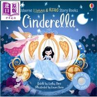 【中商原版】尤斯伯恩音乐童话书:灰姑娘 Listen and Read Story Books 纸板书 Usborne