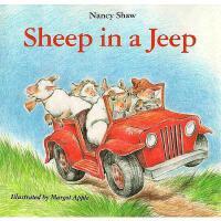【预订】Sheep in a Jeep Y9780395411056