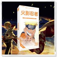 火影忍者明信片 2019全新动漫明信片收藏分享留言卡贴纸