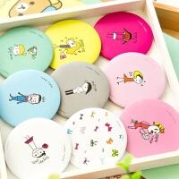 【满9.9元包邮】韩国新款卡通小圆镜创意随身镜便携化妆镜可爱女生小镜子礼品